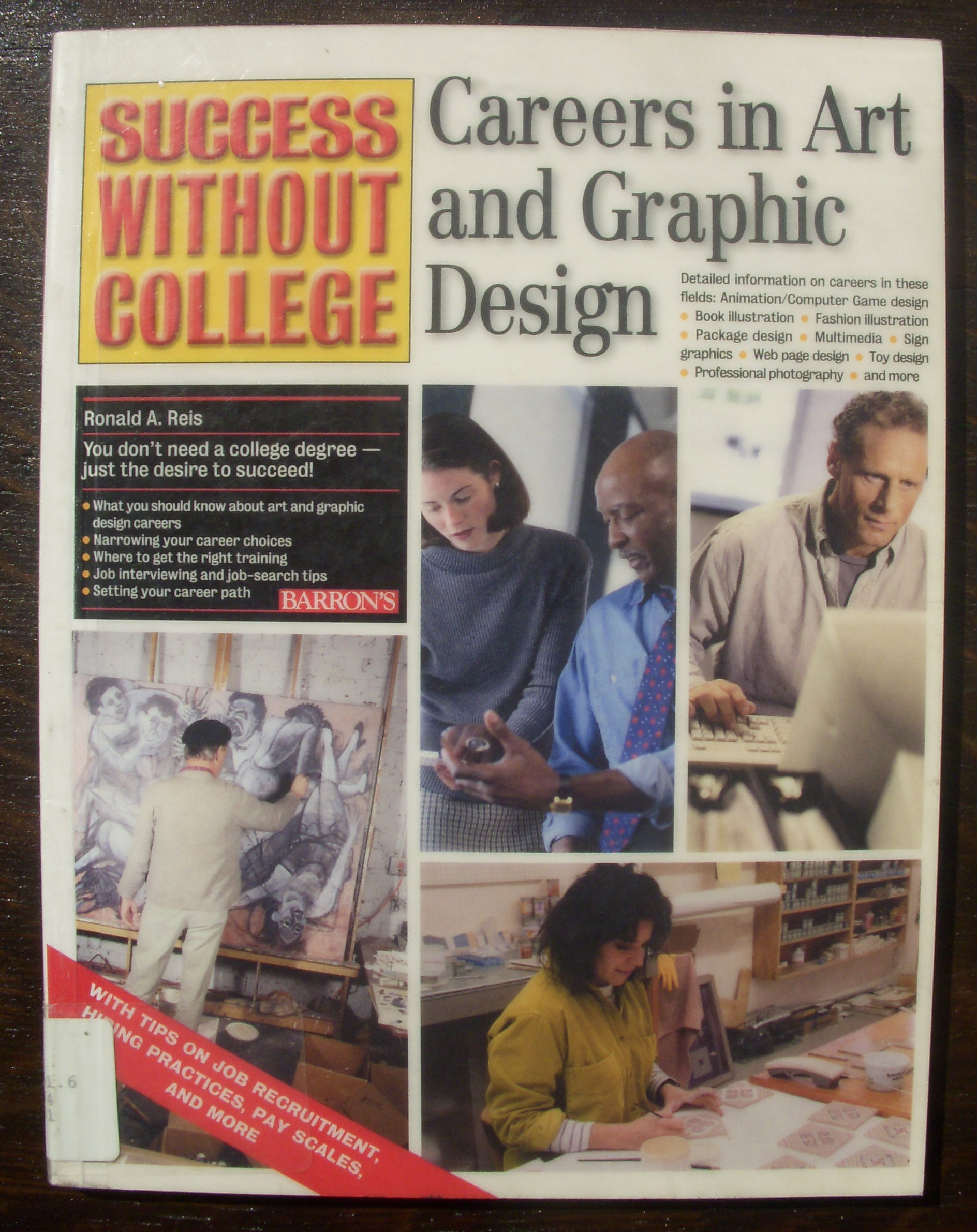 Becoming A Graphic Designer Without Going To Design Or Art School A Library Of Ideas